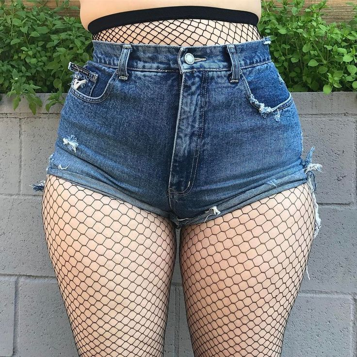 Thick thighs save lives Total perfection #vintage cut-offs up for grabs in our Hottie With a Body section (sizes XL and up!)
