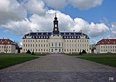 Wermsdorf, Schloss H U B E R T U S B U R G