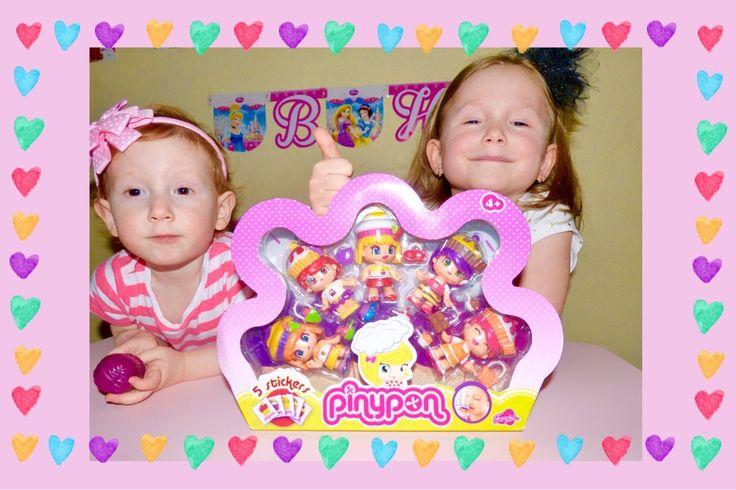 Набор куколок Пинипон Распаковка и Обзор Set Pinypon dolls Unboxing & Re...