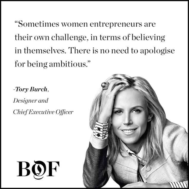 Tory Burch, Designer and CEO:
