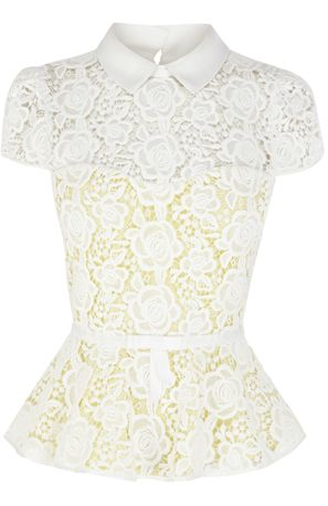 Peplum top by Karen Millen