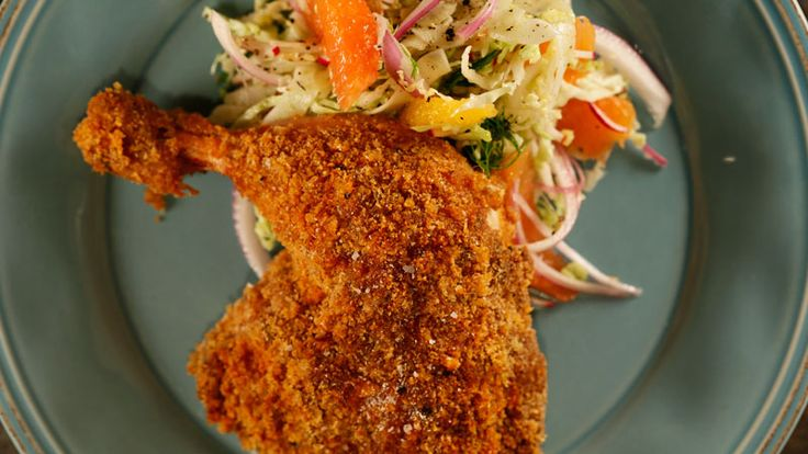 Baked Devil's Chicken Recipe | Rachael Ray Show