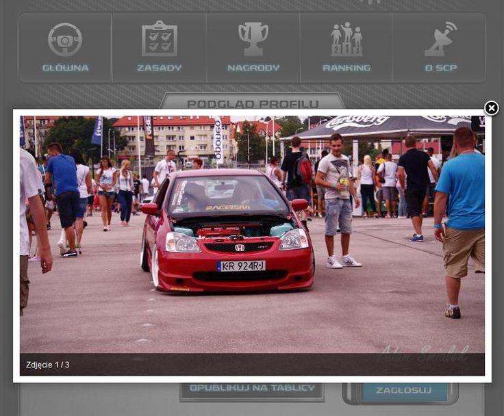 Jeden ze zgłoszonych do konkursu samochodów w konkursie Garaż SCP. Konkurs fotograficzny na Facebooku.