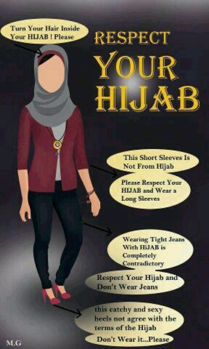 Some good lesson for the modern girls, Who don't understand the meaning of HIJAB. Wear it for the sake of ISLAM not for the sake of MODERN WORLD. Respect your hijab. Muslimah. Love Islam