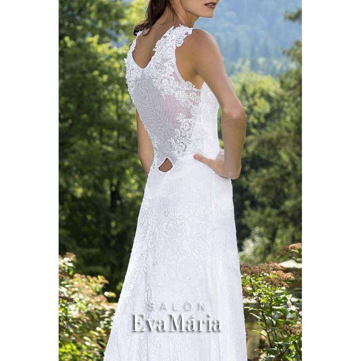 Biele svadobné šaty Astra