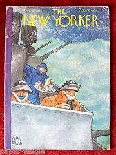 The New Yorker Magazine ~ December 26, 1942 ~ Peter Arno