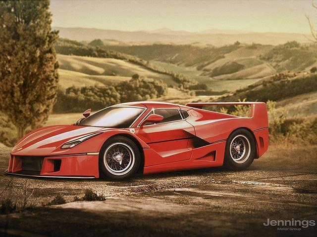 Sådan ville nutidens superbiler se ud for 30 år siden - http://bit.ly/2Aoj8Q2
