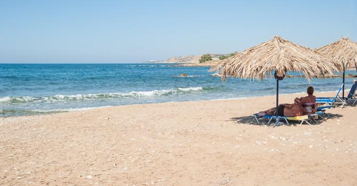 Sfakaki beach