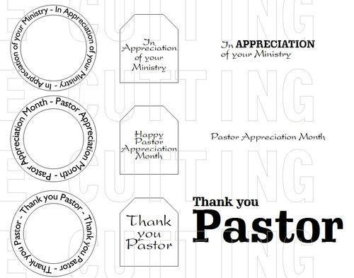 Pastor Appreciation Month