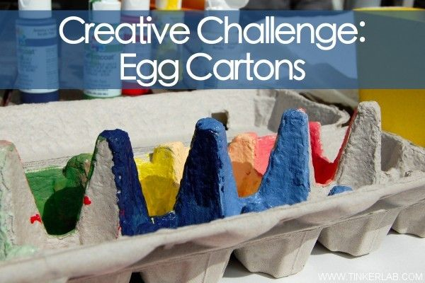 Crafts for Kids: 45 Amazing ideas for turning the humble Egg Carton into something fabulous...with kids.    What would you do with an egg carton?