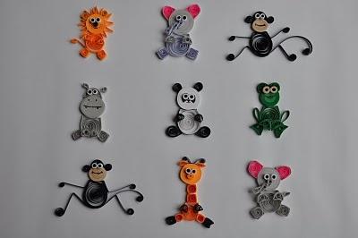quilled - mini animals