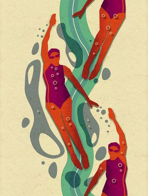 Swimmer 2 by Dieter Braun