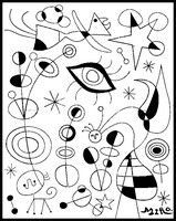 Dibujo para colorear Joan Miro