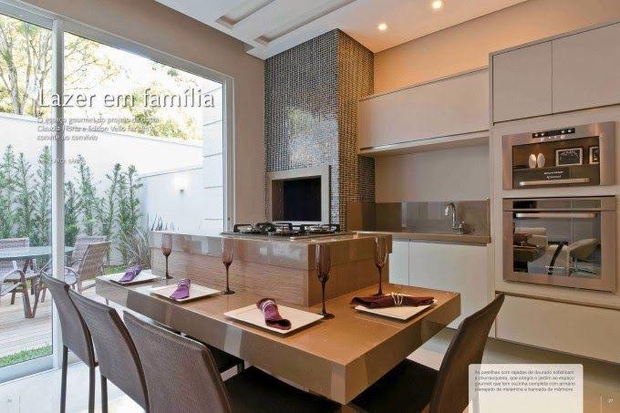 Espaços Gourmet com churrasqueiras – veja modelos e dicas! - Decor Salteado - Blog de Decoração e Arquitetura