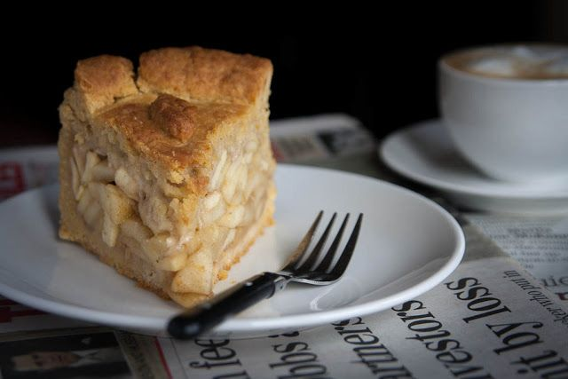 Super apple pie with marzipan - Magda's Cauldron