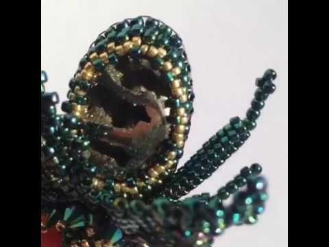 Майский жук. Брошь/ Brooch beetle