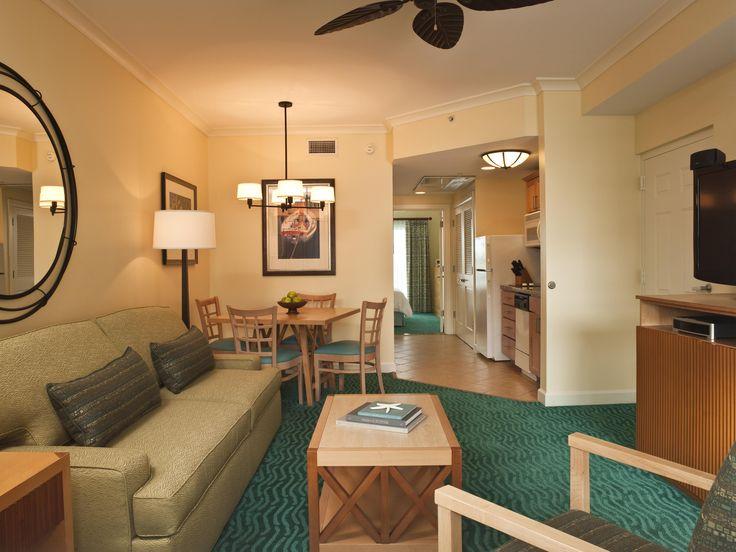 Harborside One Bedroom Living Room. Atlantis   Bahamas