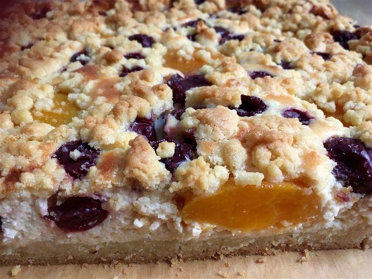 Schneller Quark-Streuselkuchen mit Obst, ein gutes Rezept aus der Kategorie Kuchen. Bewertungen: 734. Durchschnitt: Ø 4,6.