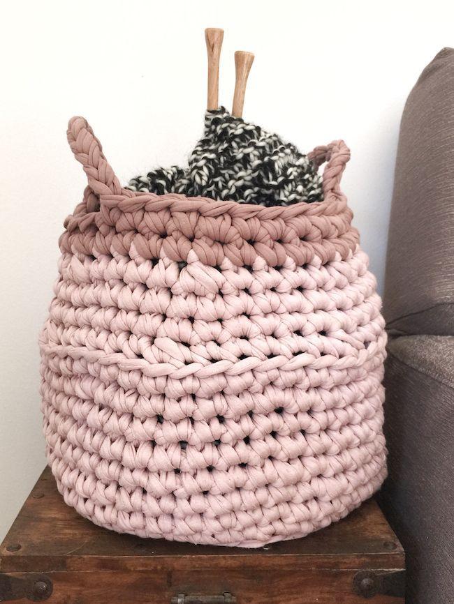 Gracias a Santa Pazienzia por este precioso tutorial para hacer cesto Thai de trapillo. ¡Ponte manos a la obra!
