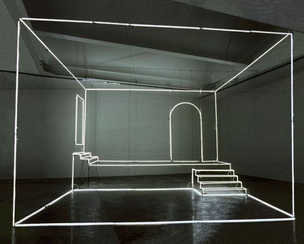 Light installation by Massimo Uberti #installation #light