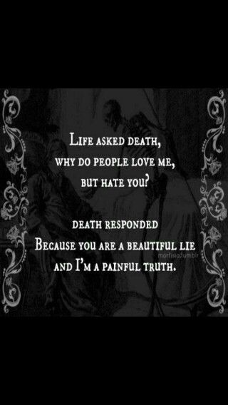 A beautiful lie and a painful truth...
