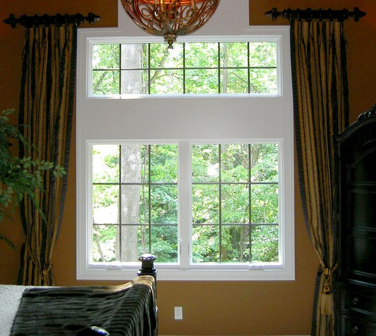 Best Window Treatments Images On Pinterest Curtain Ideas - Bedroom windows designs