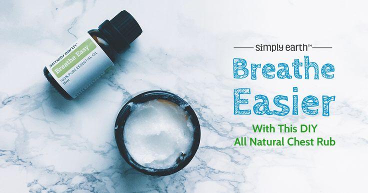 all natural chest rub essential oil recipe