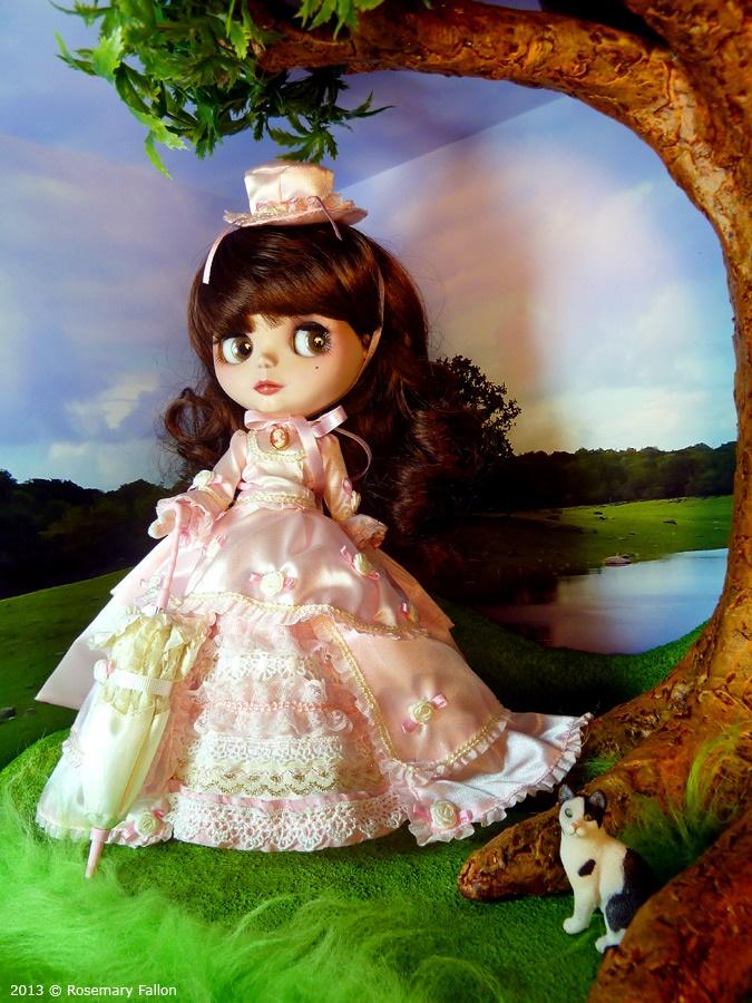 Molly - Custom Blythe / Doll Box - Cool Woods