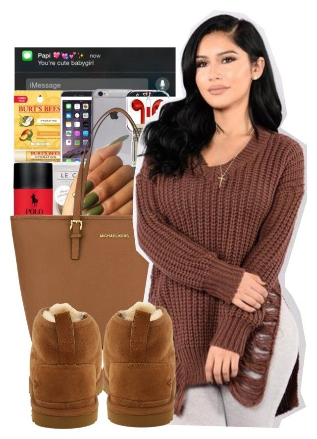 #86: Cute  Cozy Date Night by chilly-gvbx ❤ liked on Polyvore featuring MICHAEL Michael Kors, UGG Australia and Gucci