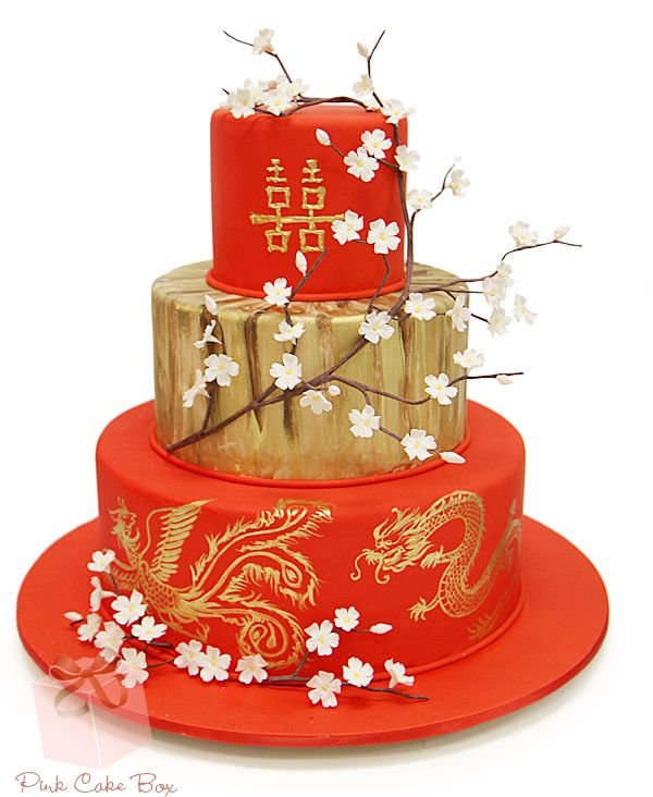 975 best Asian Themed Cakes images on Pinterest Beautiful cakes