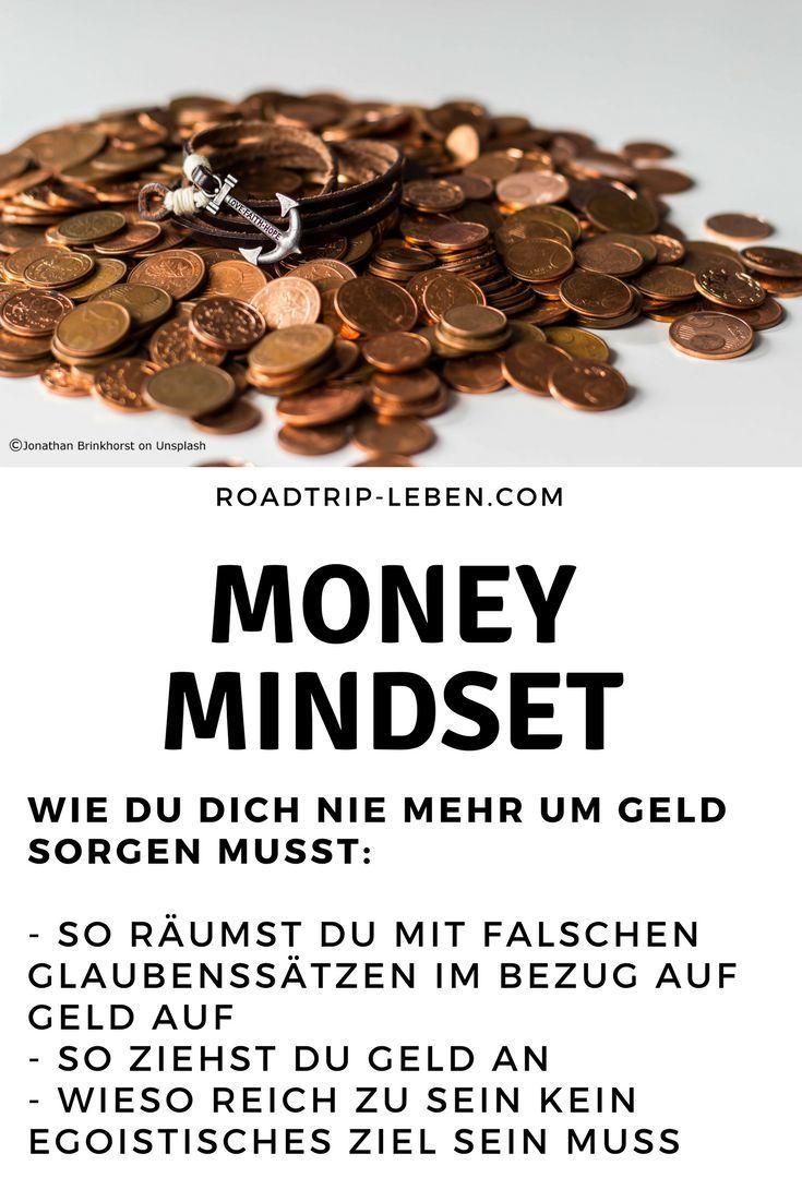 Money Mindset: Wie du dich nie mehr um Geld sorgen musst