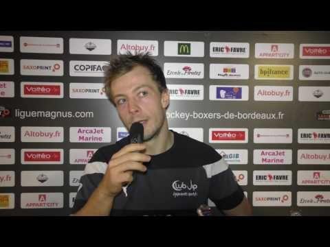 Résumé & Réactions d'après-match : Bordeaux-Rouen [Saxoprint Ligue Magnus J10 - 09/10/2016] - YouTube