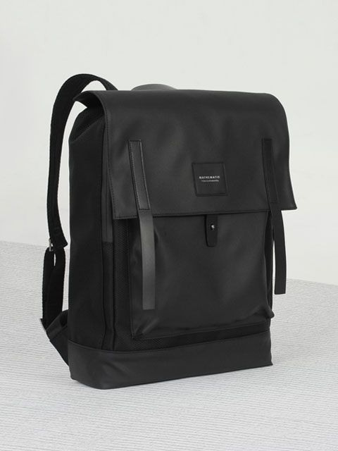 DEAN COVERED BACKPACK Black  Men's Backpack
