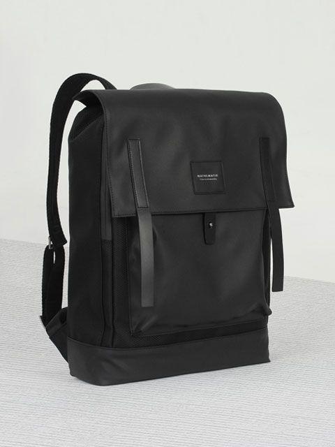 DEAN COVERED BACKPACK Black  Men's Backpack