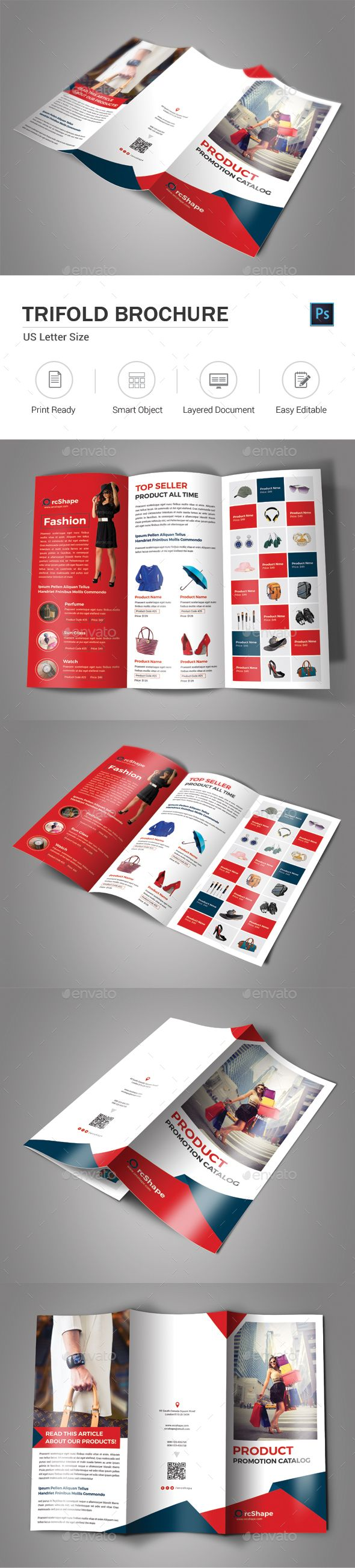 Best Brochure Images On Pinterest Booklet Printing Flyer - Product brochure templates
