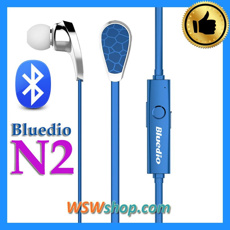 Bludio N2 Bionic Bluetooth Headset Sport In Ear Earphones V4.1 EDR Wireless Earphones Stereo Fone De Ouvido Sem Fio N2
