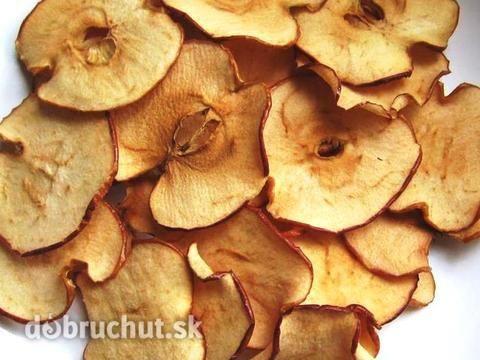 Zdravé chipsy zo sušených jabĺk