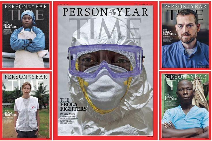 Gli Ebola Fighters nominati personaggio dell'anno 2014 dal Time