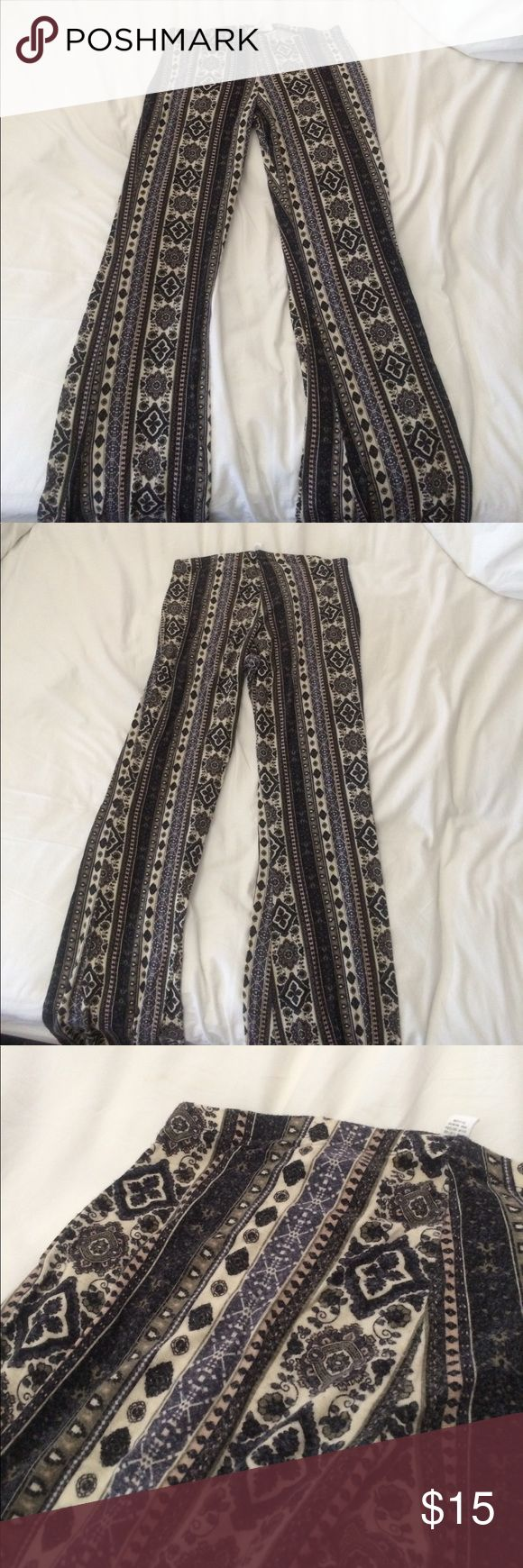hipster pants very stylish hipster pants with a fun pattern. they are super comfy and flattering. Full Tilt Pants
