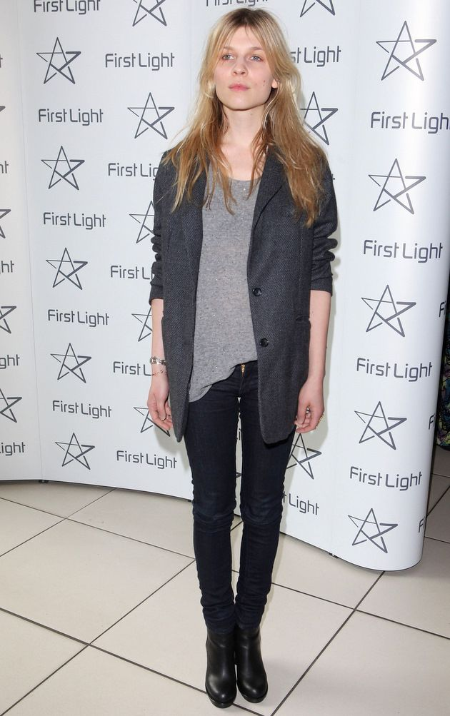 not into celebrities... but Clemence, I do love you. I want everything she is wearing.