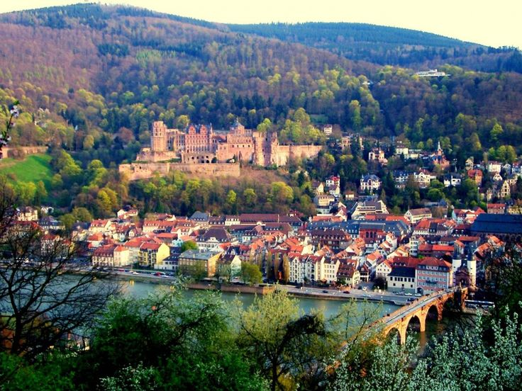 Heidelberg Widescreen Wallpaper HD