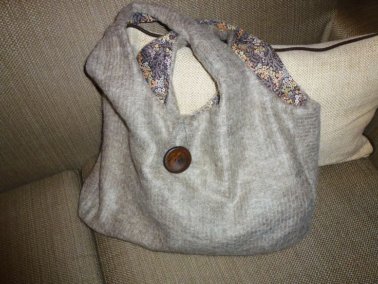 beige+floral double face bag