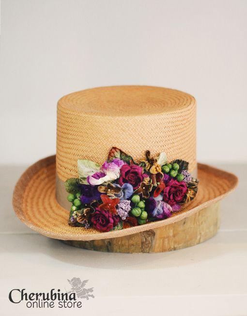 Cherubina Millinery, Daria II hat  http://www.cherubina.com/producto/daria-ii/