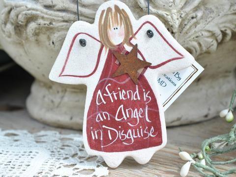 Friendship Gift Salt Dough Ornament