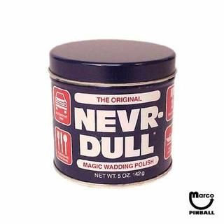 Nevr-Dull Metal Polish - NRD - Marco Pinball Parts