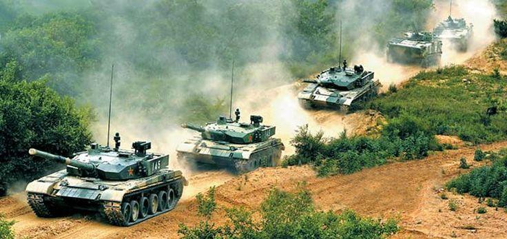 中国人民解放军99式主战坦克 / Chinese People's Liberation Army Type 99 main battle tanks