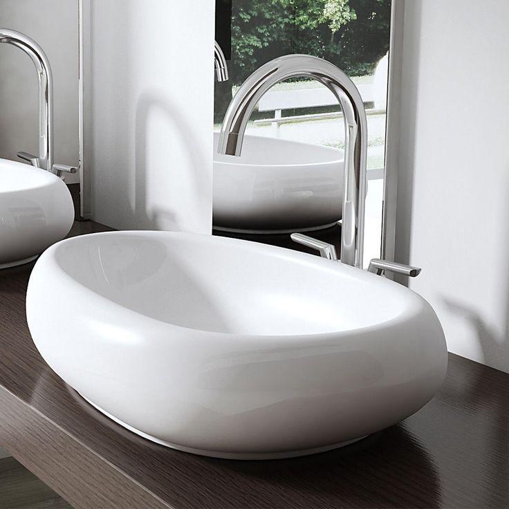 42 besten Badezimmer Bilder auf Pinterest Badezimmer - freistehende badewanne raffinierten look