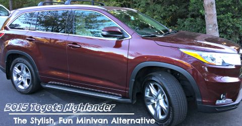 2015 Toyota Highlander: The Stylish, Fun Minivan Alternative