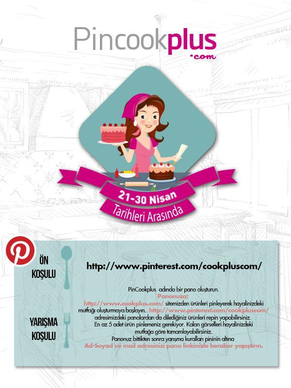 PinCookplus Pinterest Yarışması