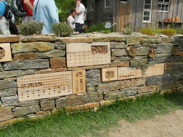 Trockenmauer Trockenmauer, Gartenmauern und Garten